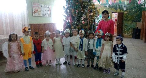 Отчет о проведении новогодних праздников 2018